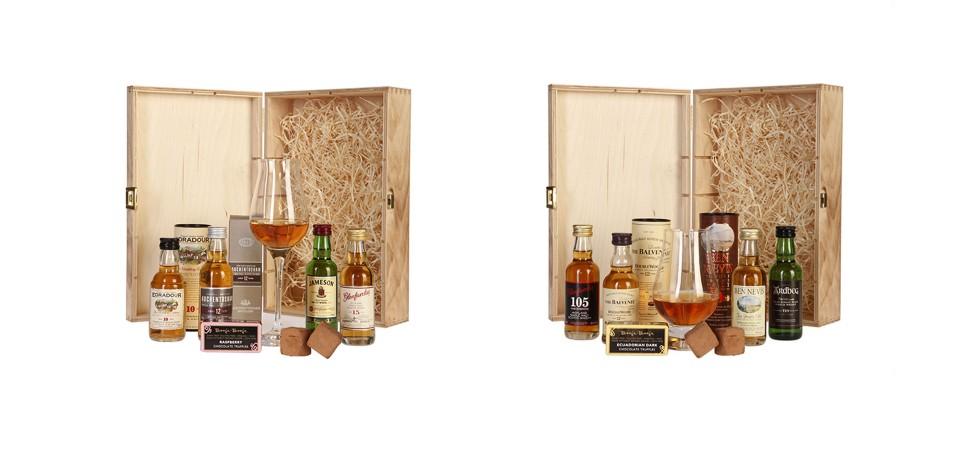 Produktfotografie Whiskysets Lichtform
