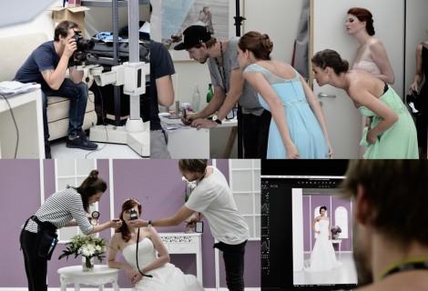Fotoshooting für traumhafte Braut- und Festkleider